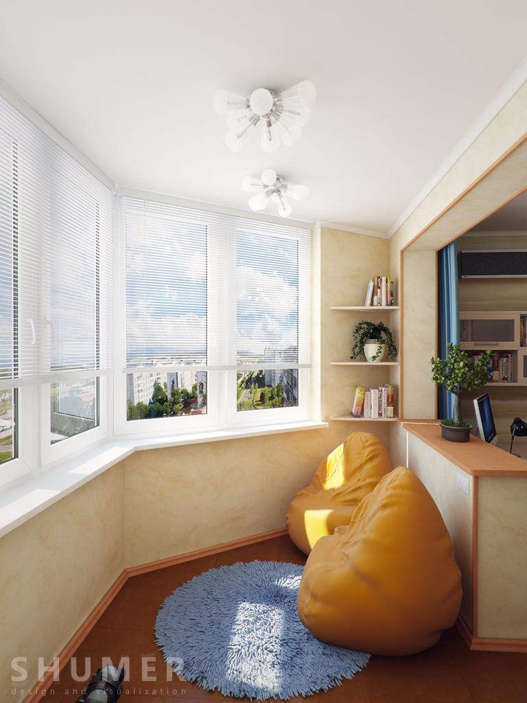 Дизайн маленького балкона - 35 фото для вдохновения.